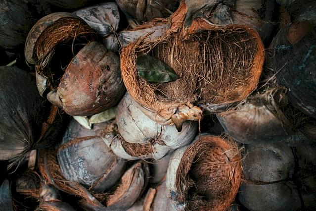 Kokosnootschalen